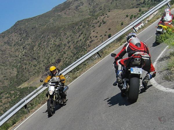Spanje : Motorreis Andalusië1