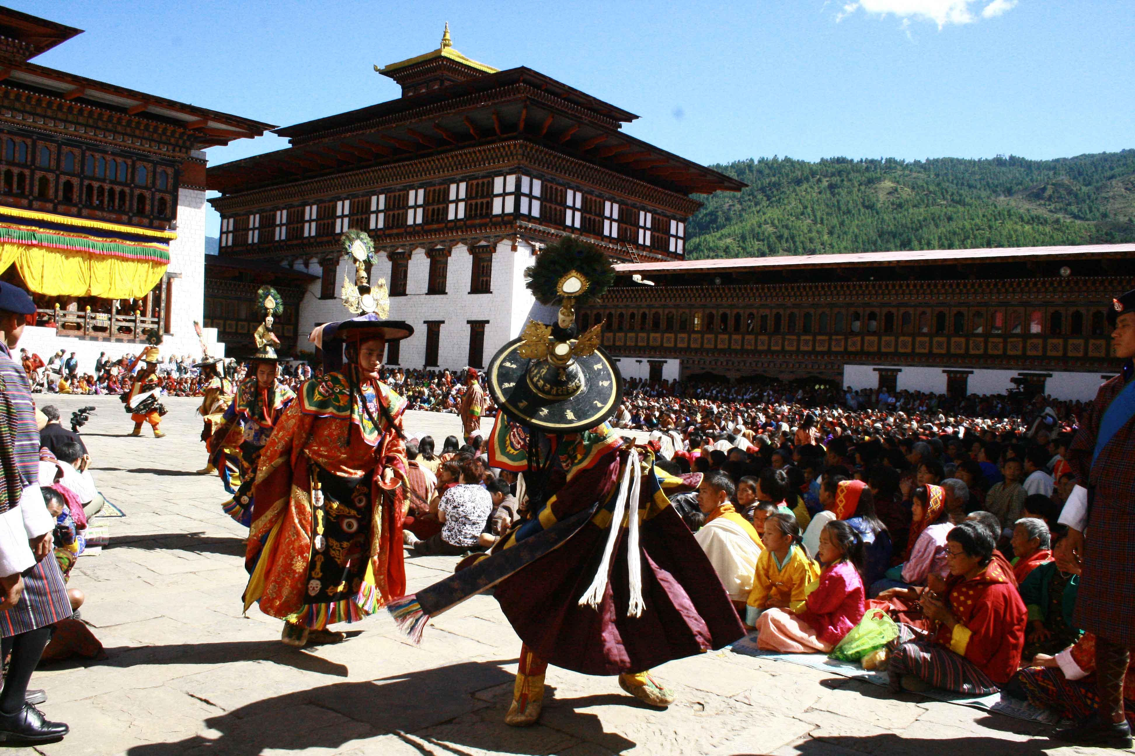 Bhutan – Troon der Goden3