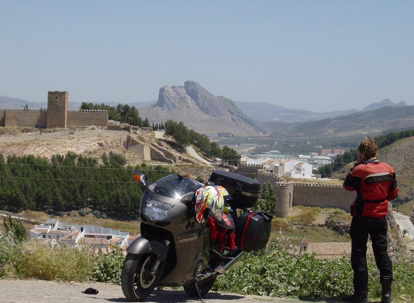 Motorreis Spanje : langs de toppen van de Sierra Nevada2