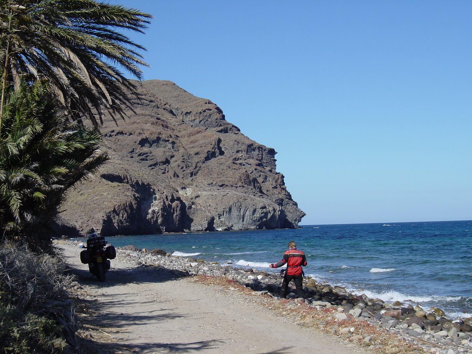 Motorreis Spanje : langs de toppen van de Sierra Nevada3