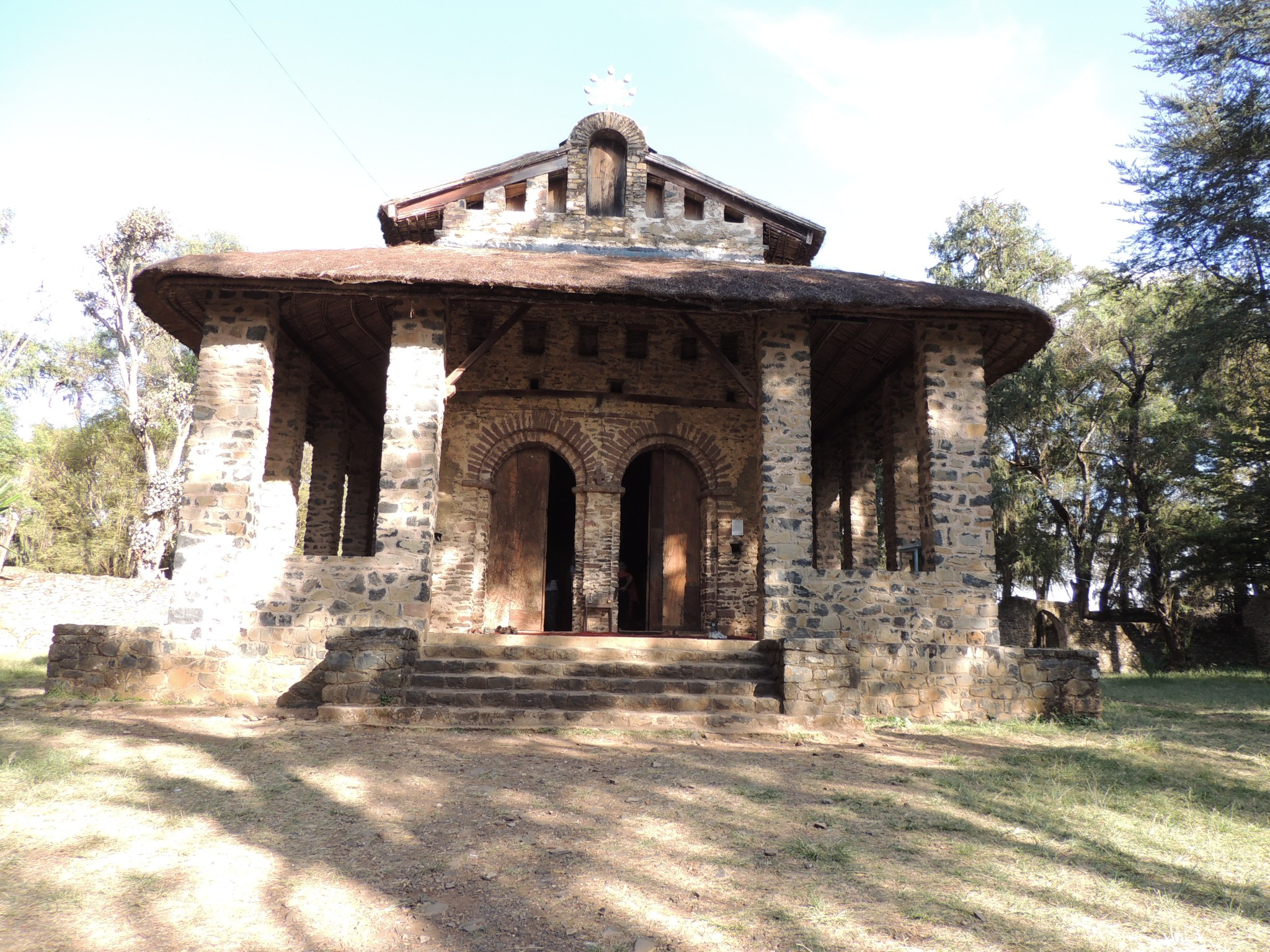Ethiopie, kerkje van Debre Berhan