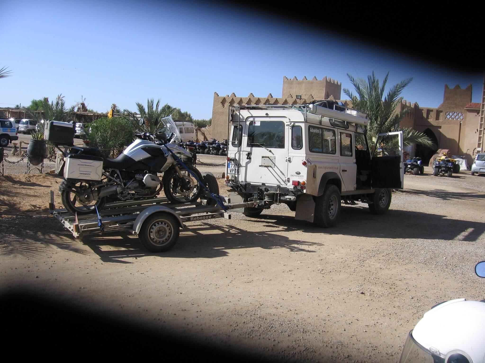 Motorreis Marokko : naar de poort van de Sahara7