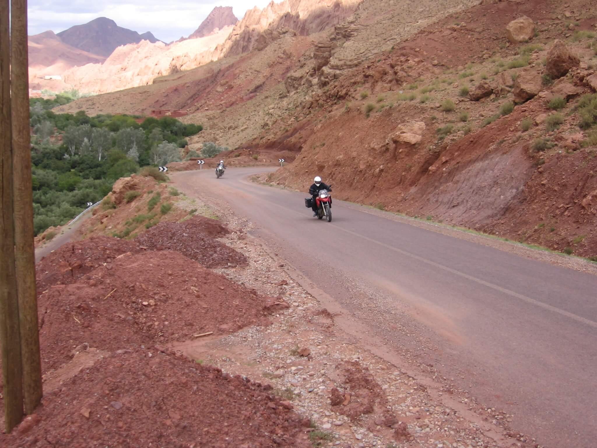Motorreis Marokko : naar de poort van de Sahara8