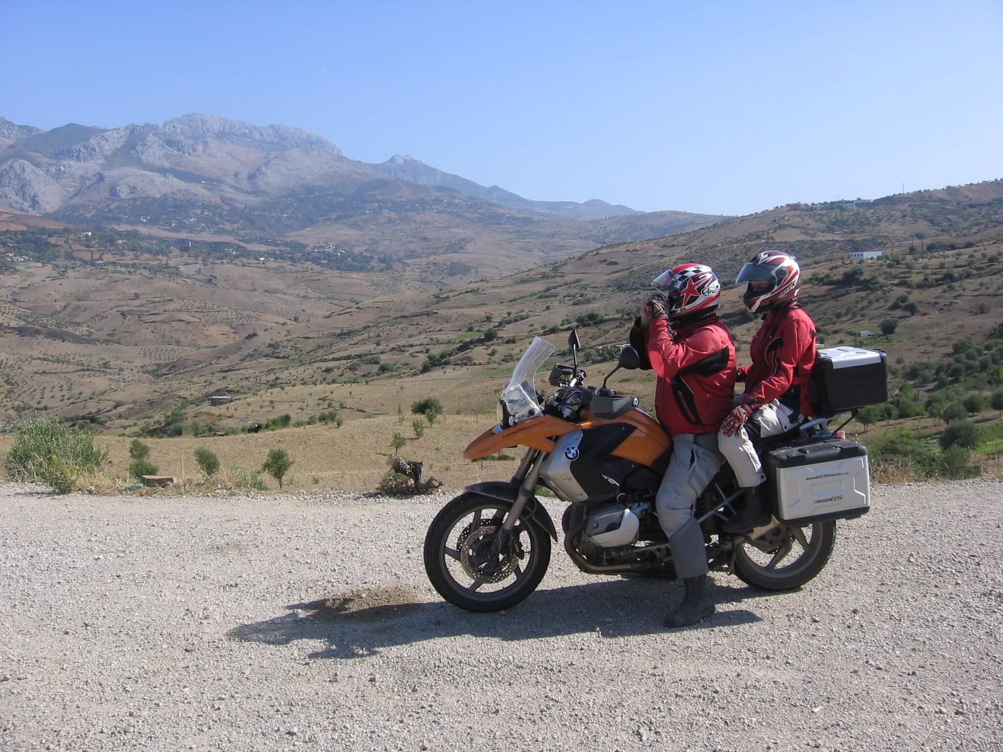Motorreis Marokko : naar de poort van de Sahara9