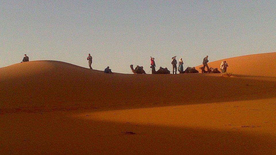 Motorreis Marokko : naar de poort van de Sahara11