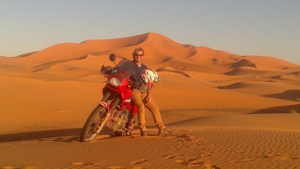 Motorreis Marokko : naar de poort van de Sahara3