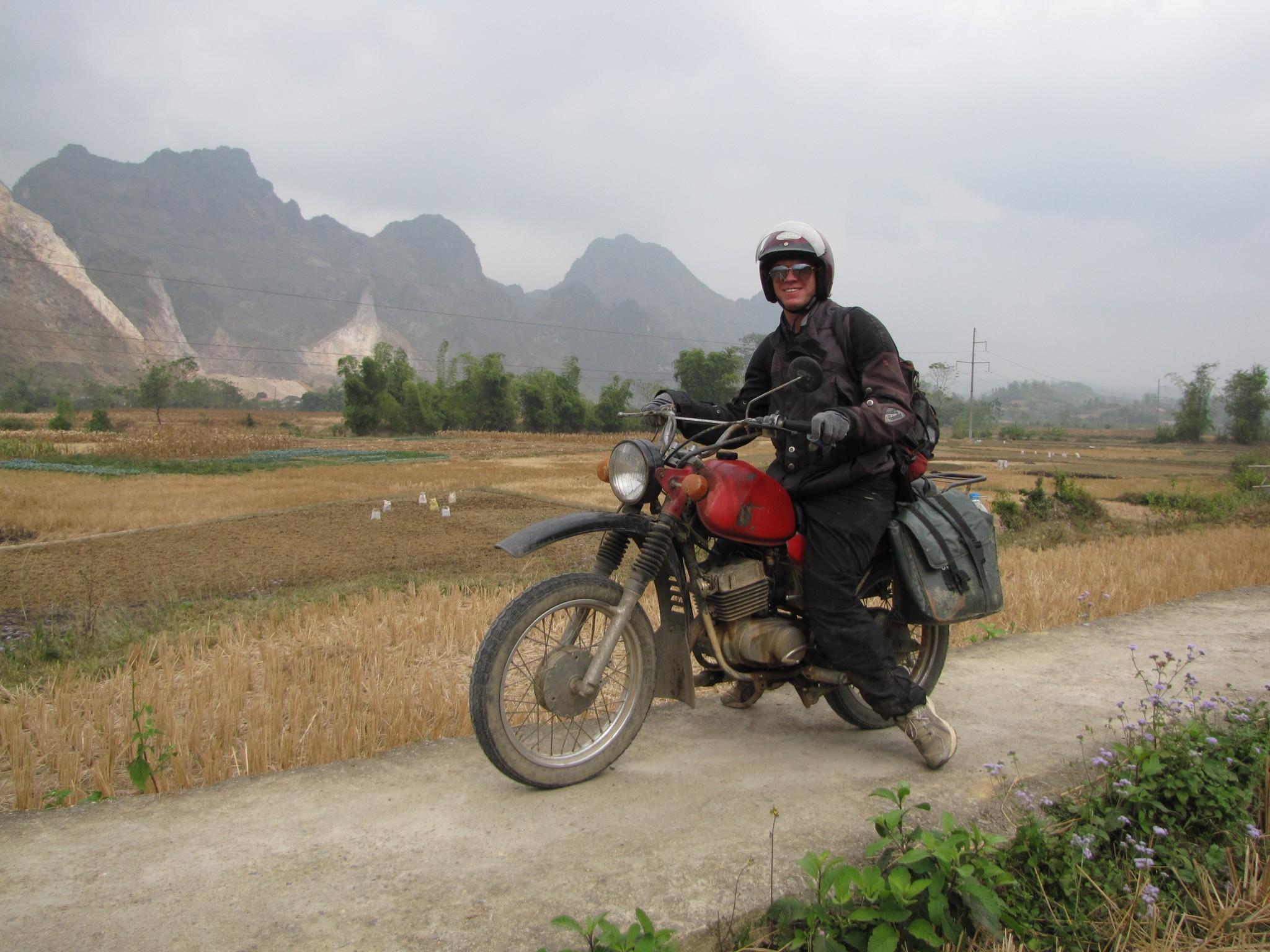 Vietnam, tocht in het Noorden
