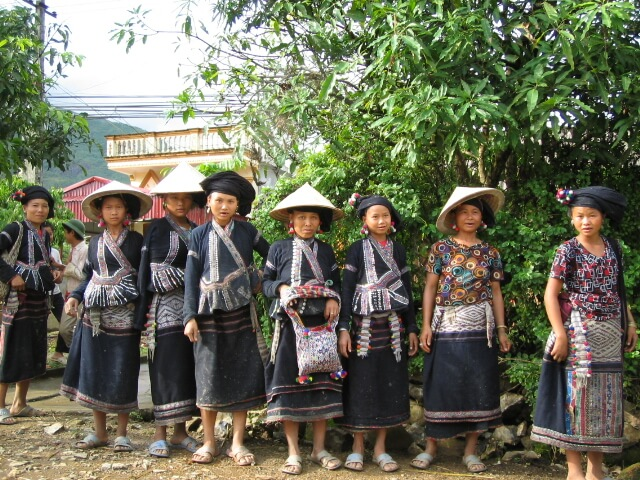 Vietnam, Black Hmong in Sapa