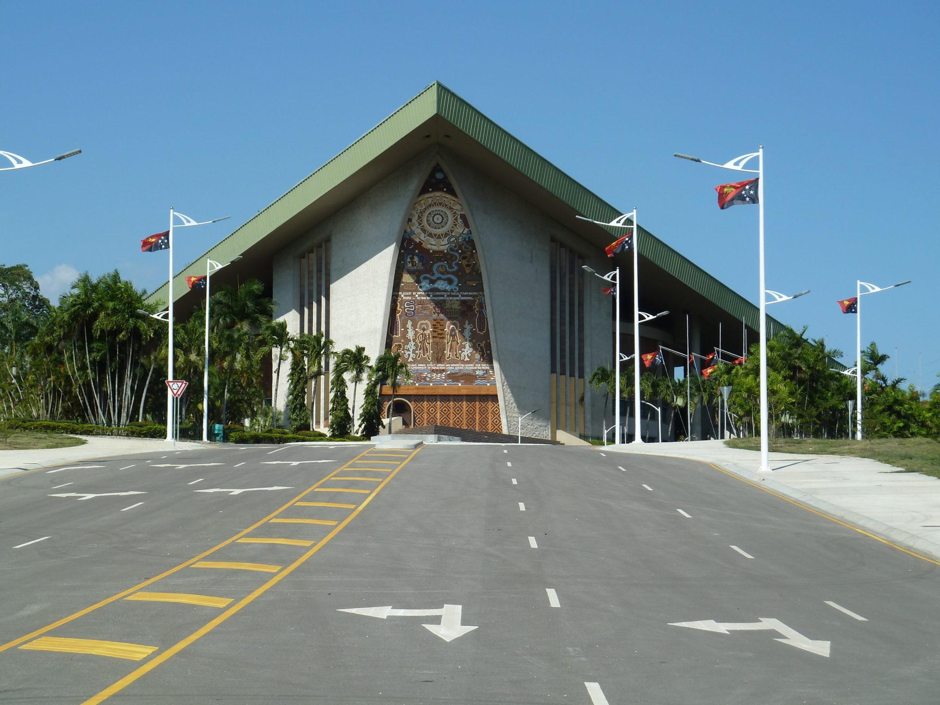 Parlementsgebouw Port moresby