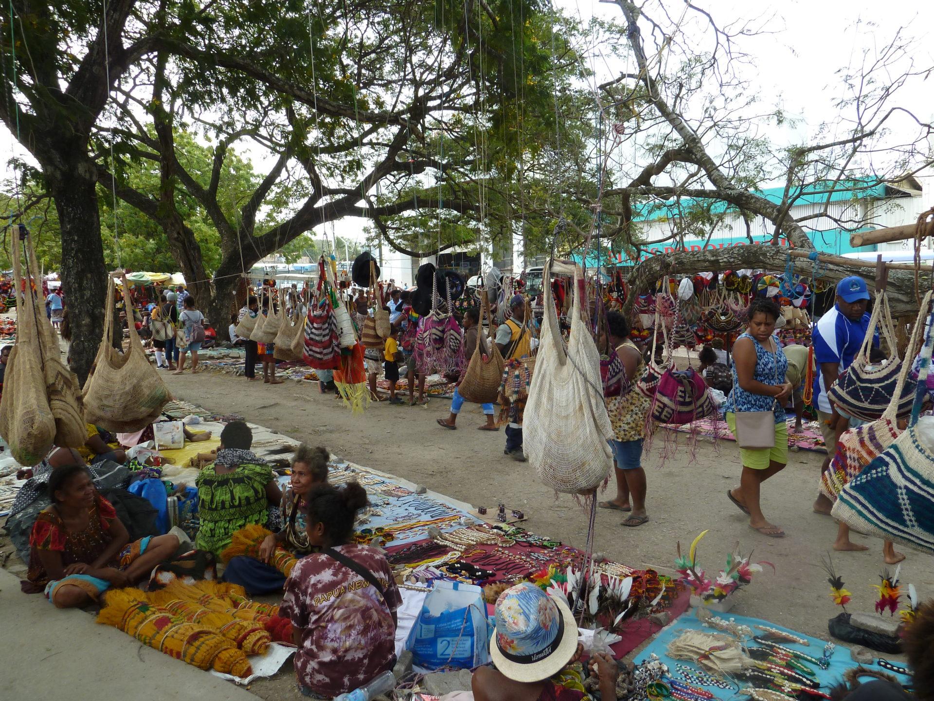 Markt Port moresby