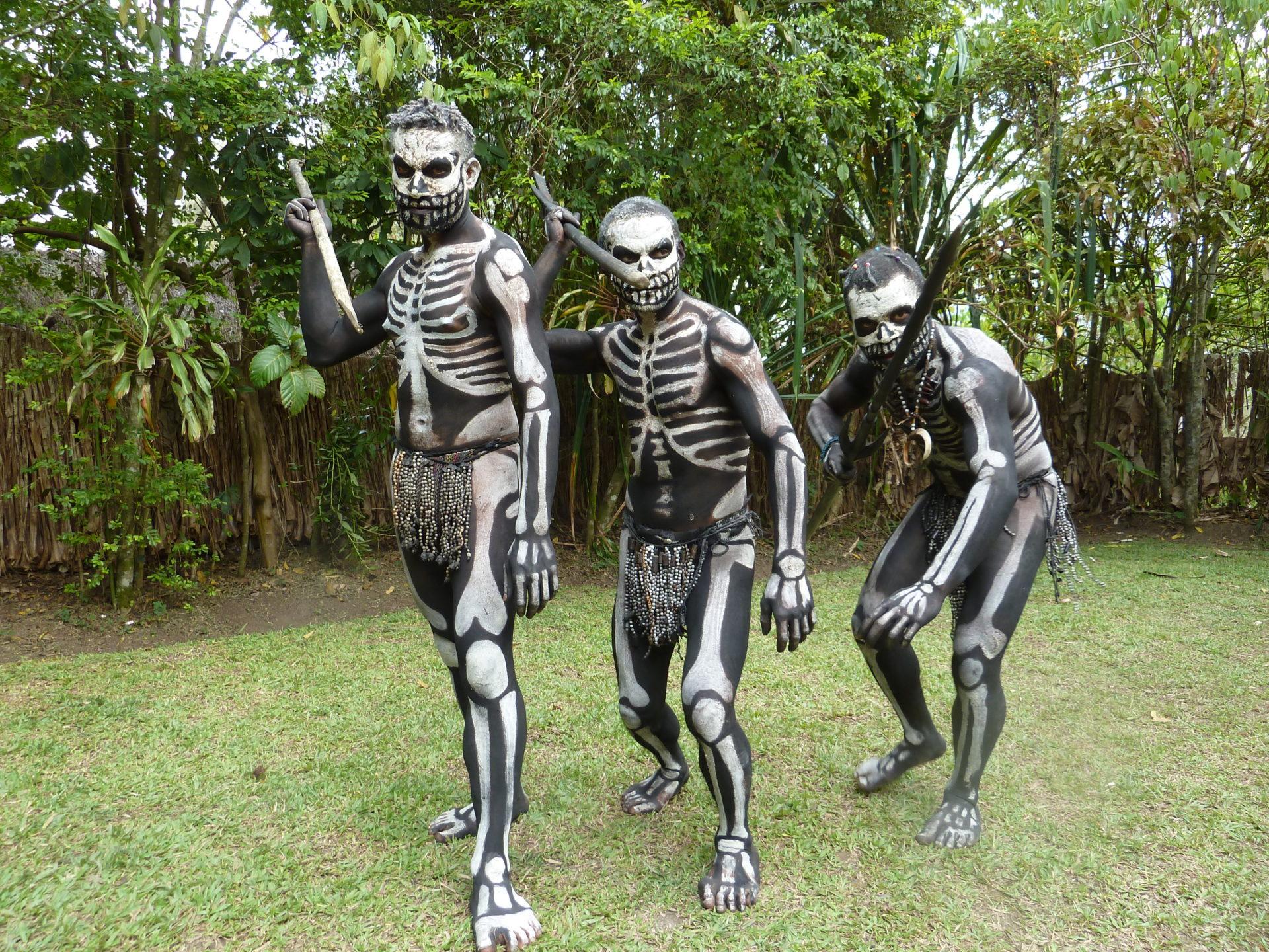 Omo masalai de skeleton man