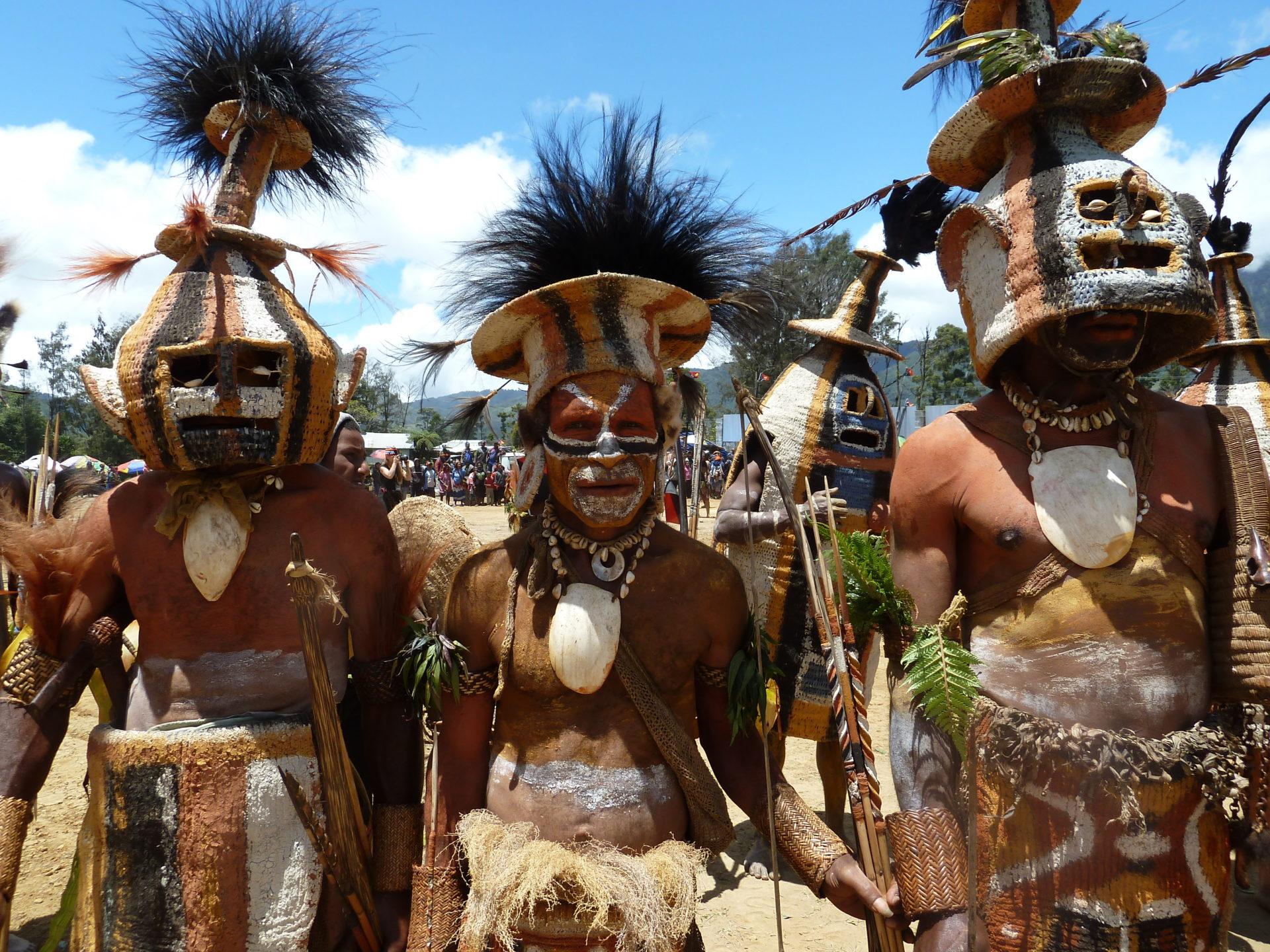stam op het Imbogu sing sing festival