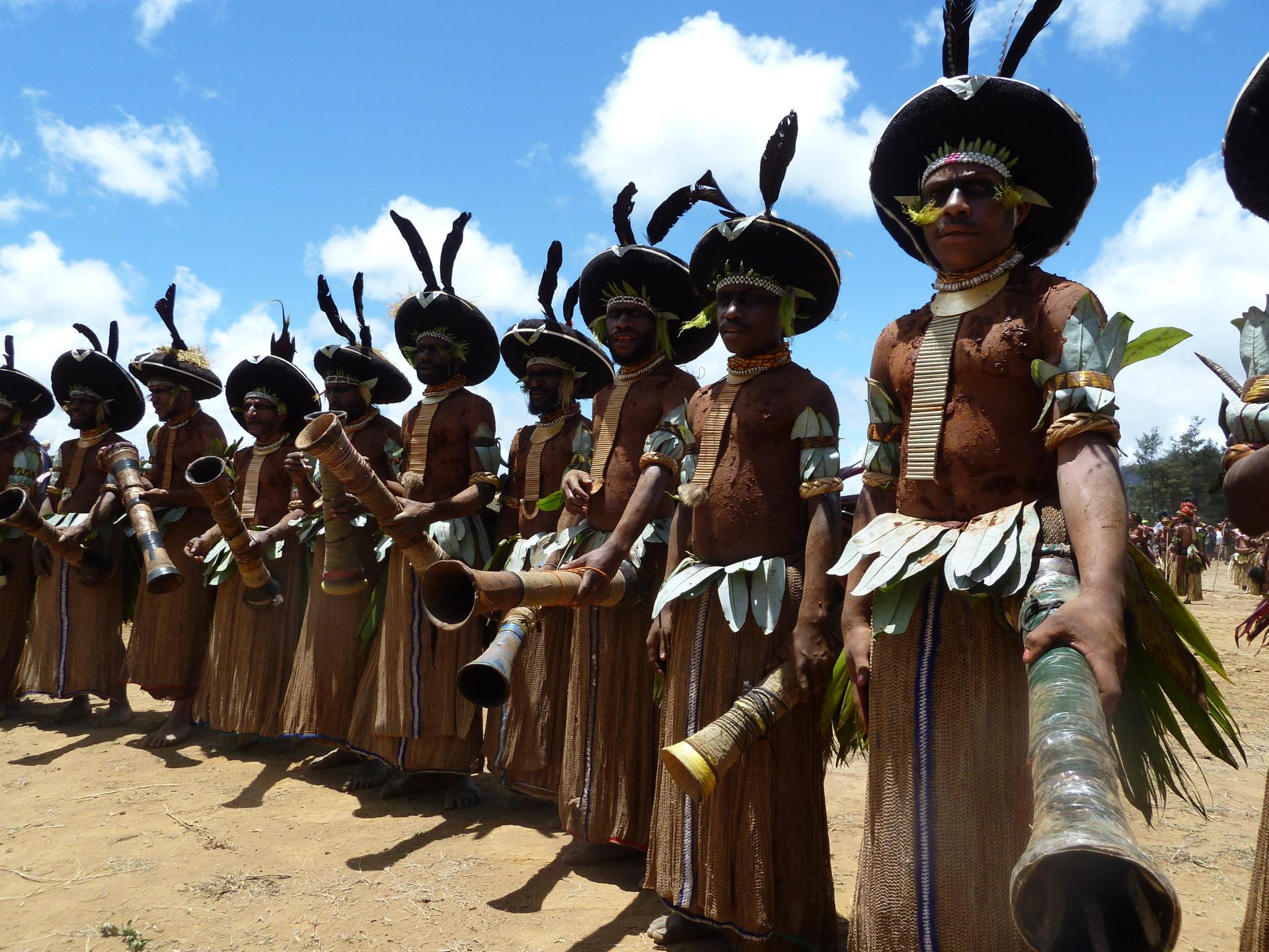 Papoea Nieuw Guinea reis