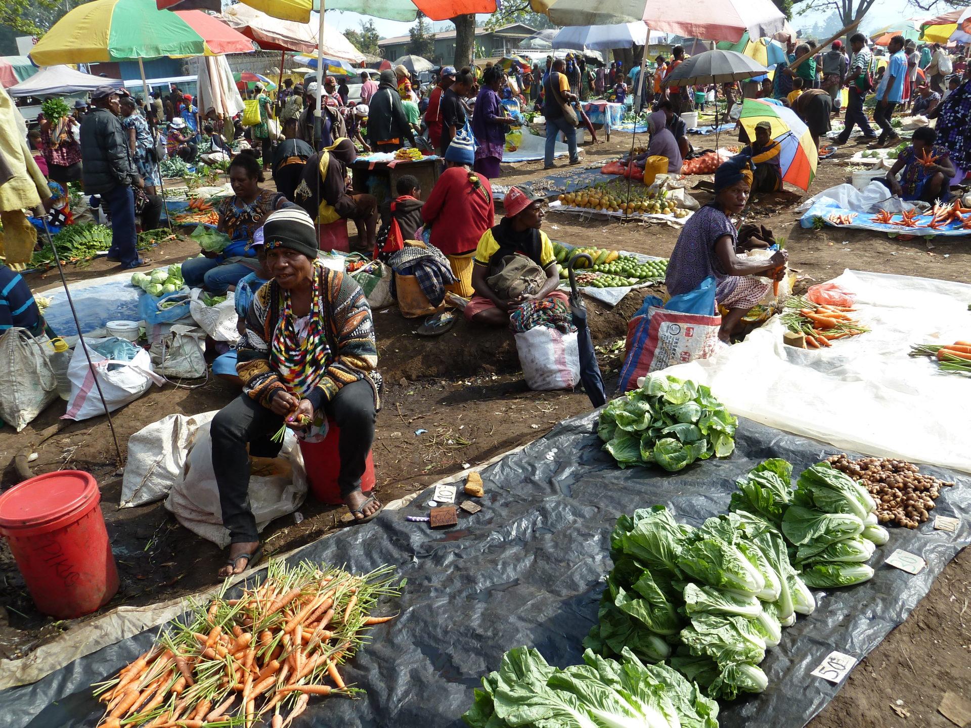 Markt Goroka