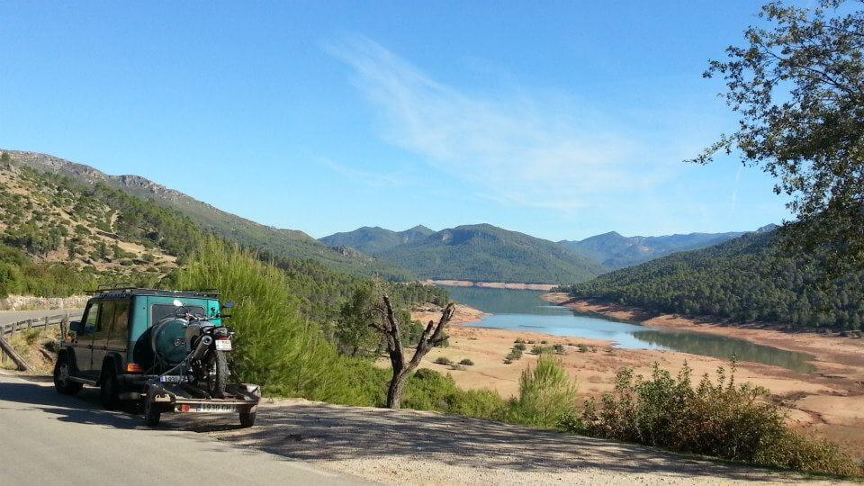 Motorreis Spanje : langs de toppen van de Sierra Nevada7