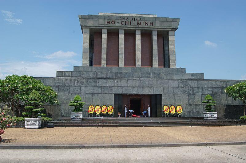Vietnam, moseleum Hoi Shi Minh in Hanoi