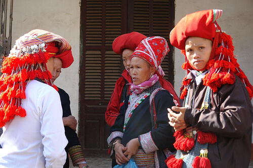 Vietnam, Red Hmong in Sapa