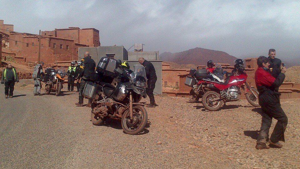 Motorreis Marokko : naar de poort van de Sahara4