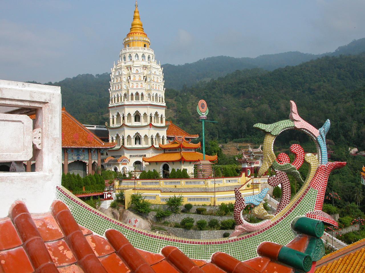 Maleisië, Teh Kek Lok Si temple in Penang