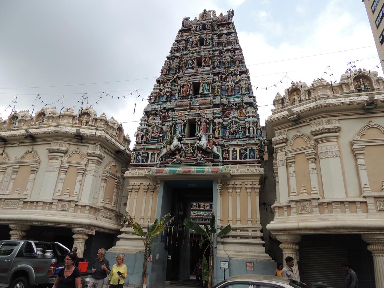 Maleisië, Hindoe temple in Kuala Lumpur