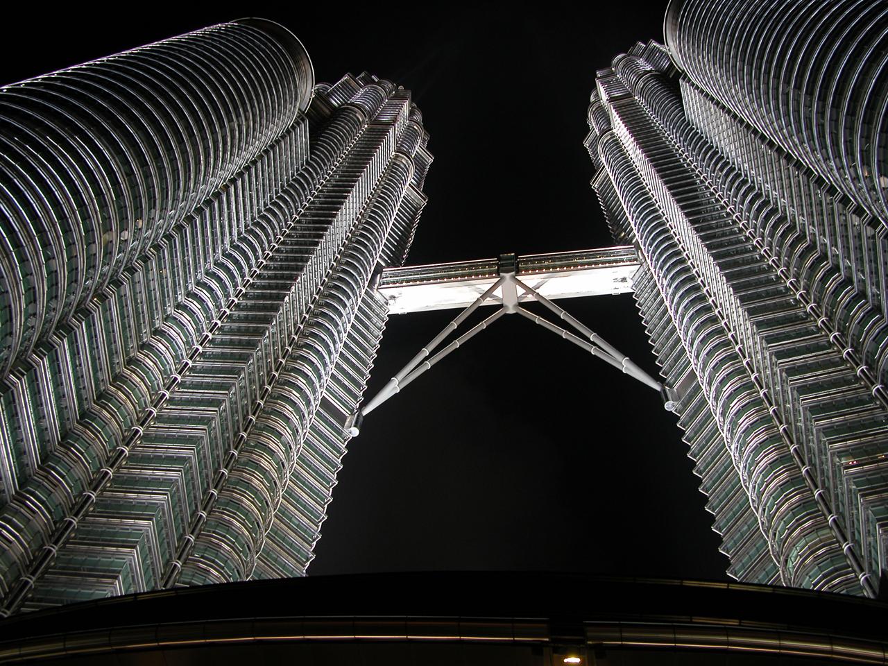 Maleisië, twin towers in Kuala Lumpur
