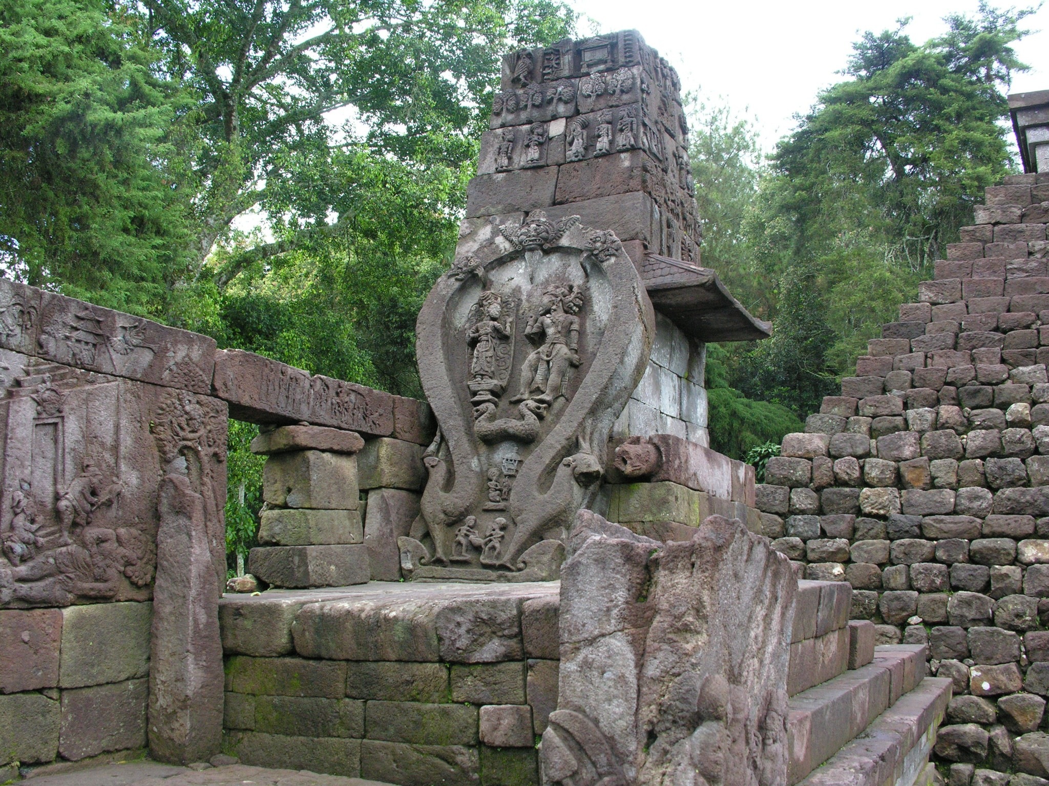 Indonesië, Sukuh temple in Oost Java