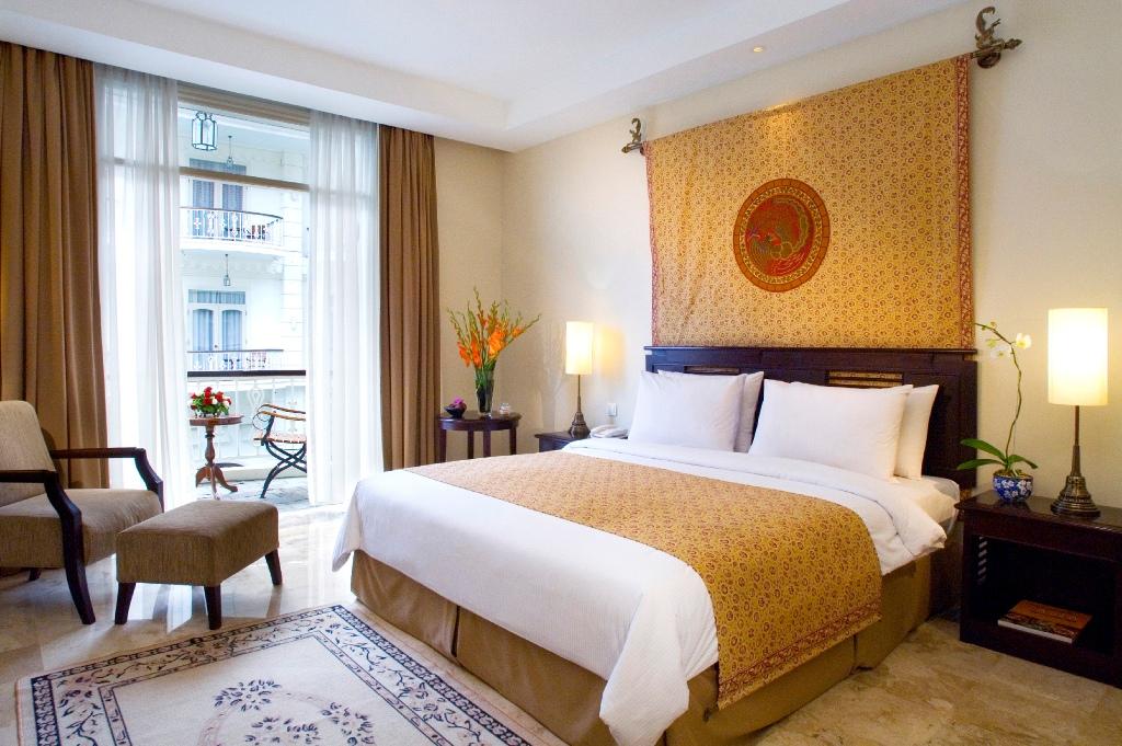Indonesië, ons hotel in Yogyakarta