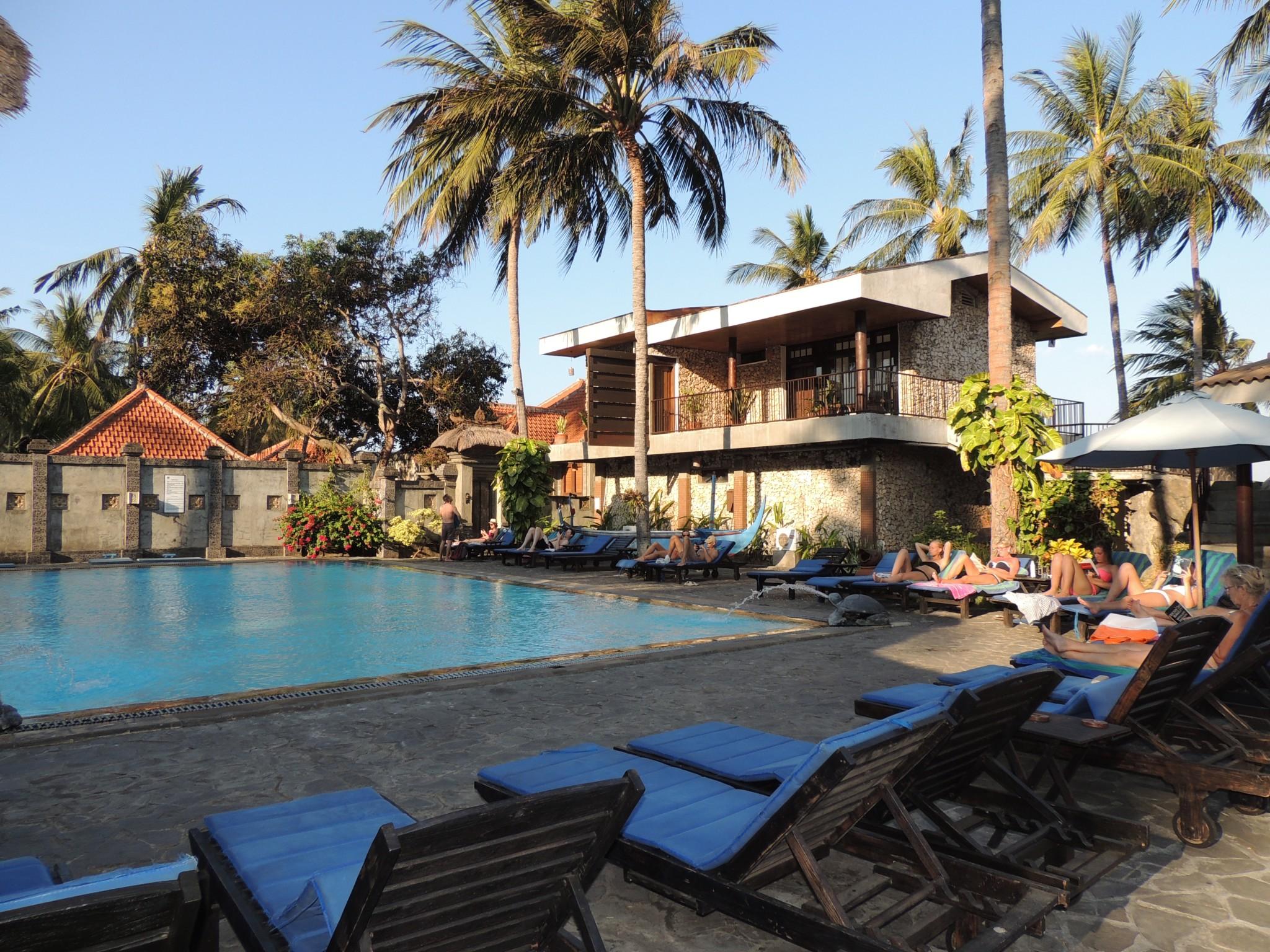Indonesië, een van onze hotels op Java