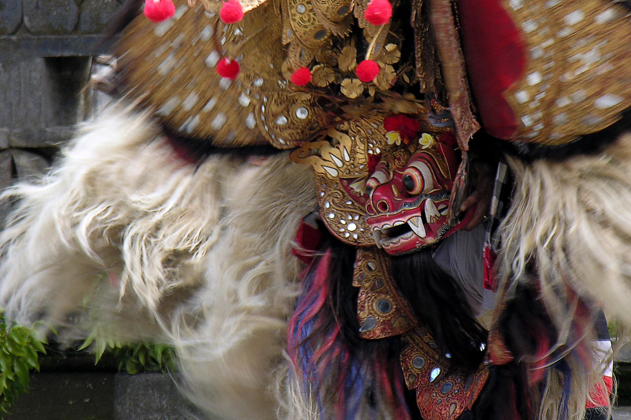 Indonesië, Barong dans op Bali