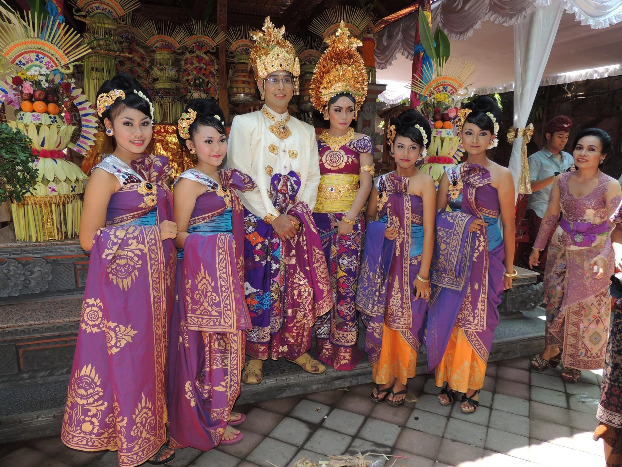 Indonesië, trouwfeest - Bali