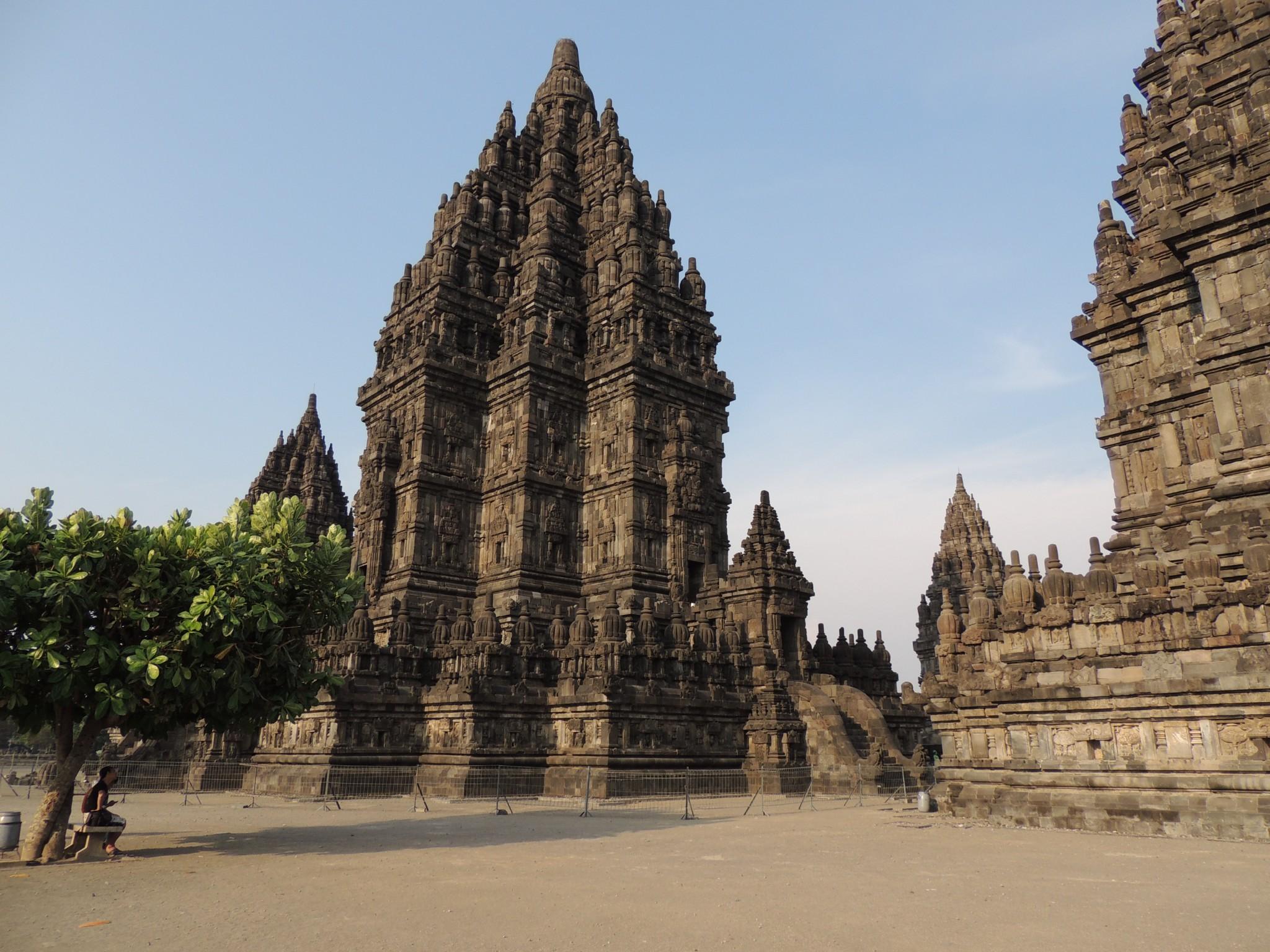 Indonesië, Prambanan temple in Yogyakarta