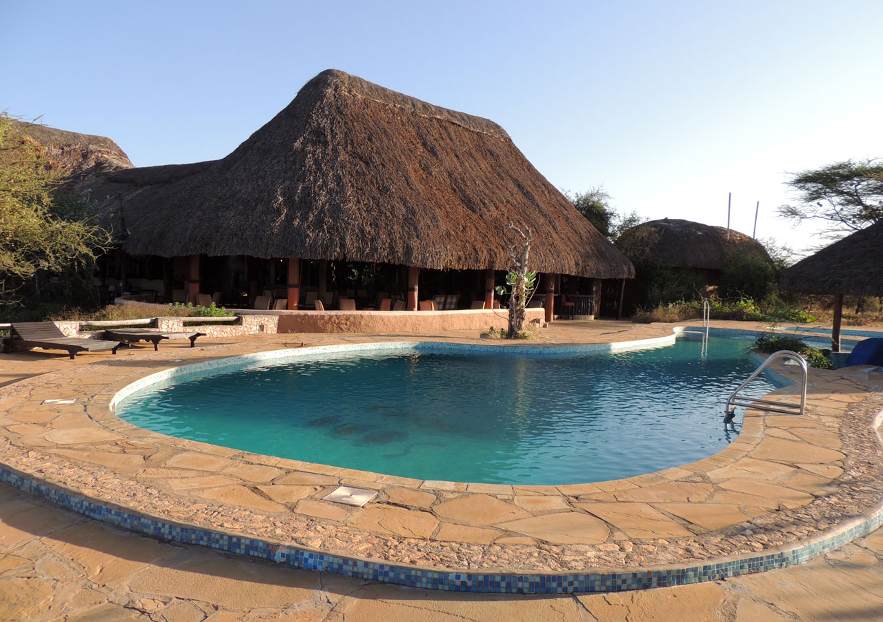 Kenia, Sopa lodge - Samburu N.P.