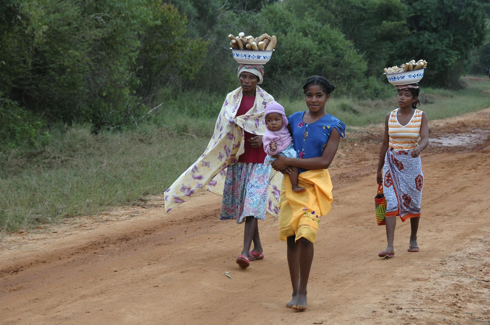 Madagascar, onderweg langs de Westkust van Madagascar