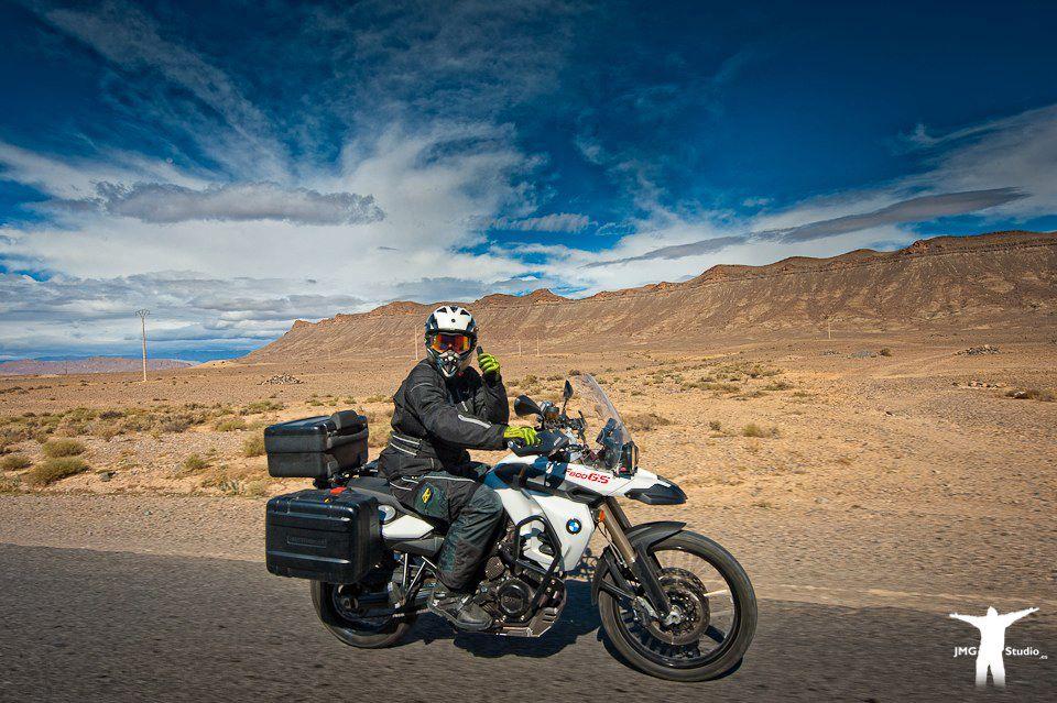 Motorreis Marokko : naar de poort van de Sahara1