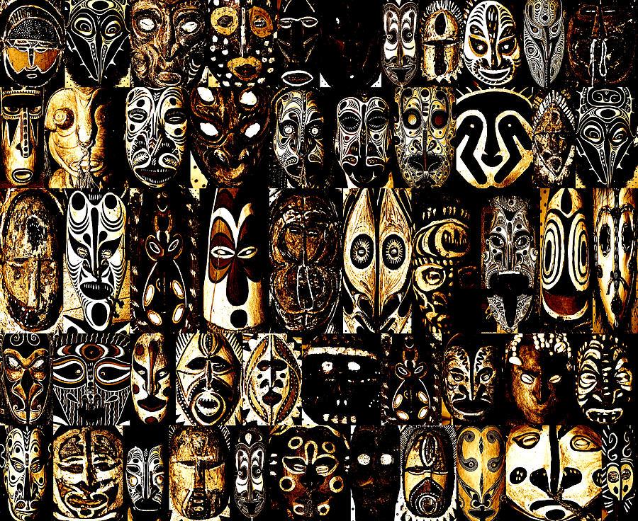papoea nieuw guinea kunst