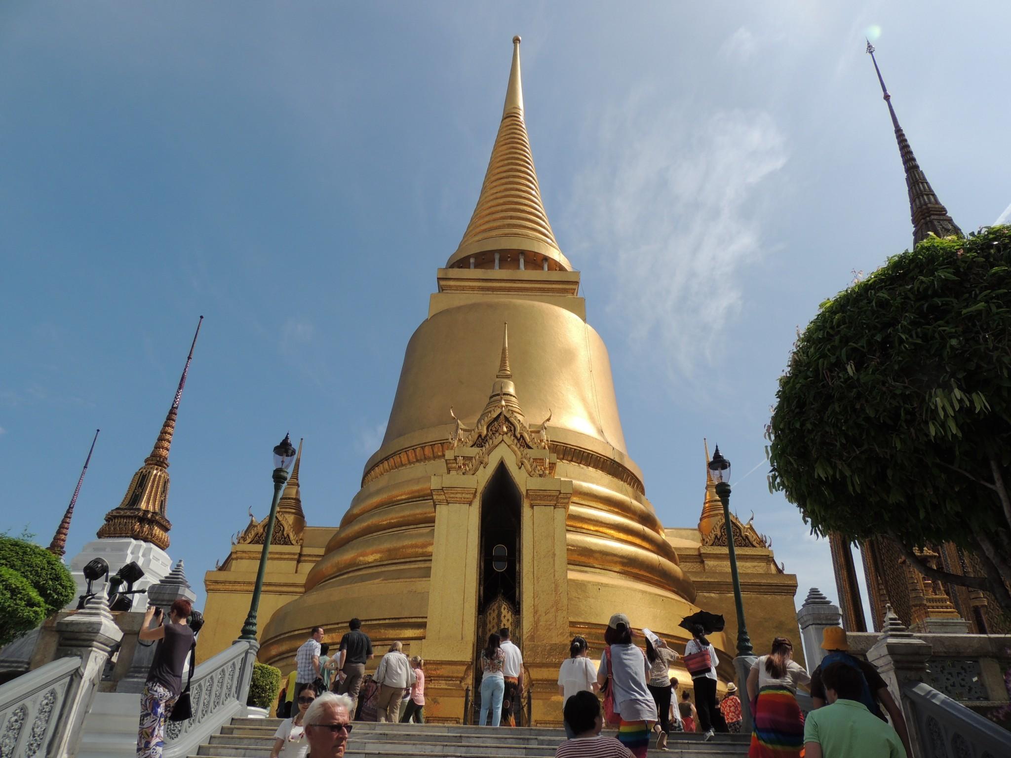 Thailand, paleis in Bangkok