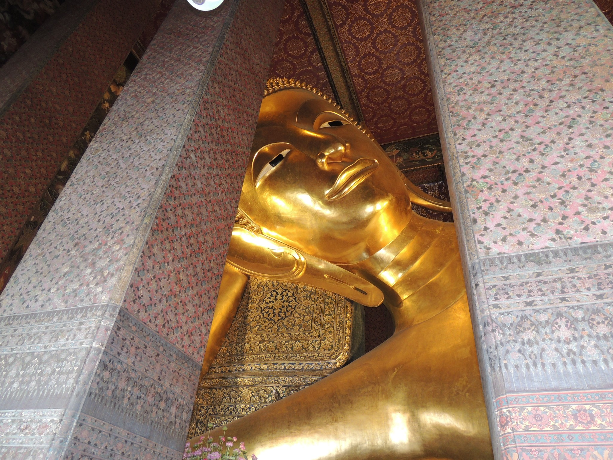 Thailand, Wat Pho; de tempel van de liggende Boeddha