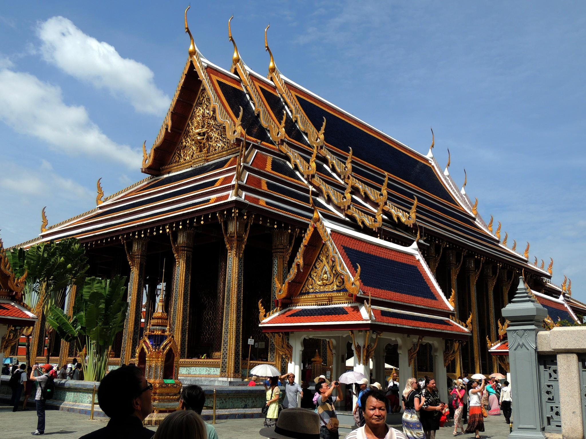 Thailand, Paleis in Bangkok,