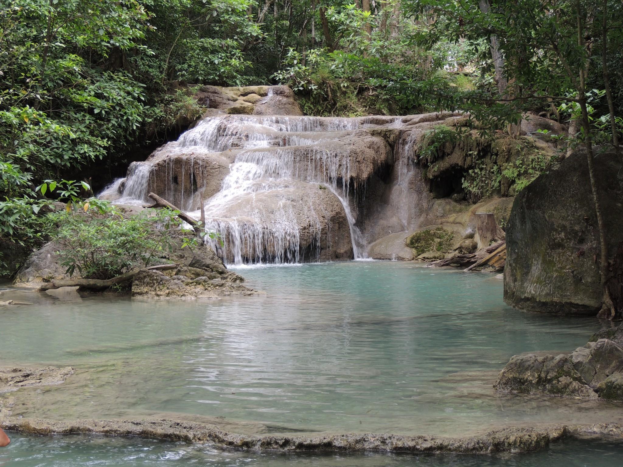 Thailand, Erawan watervallen
