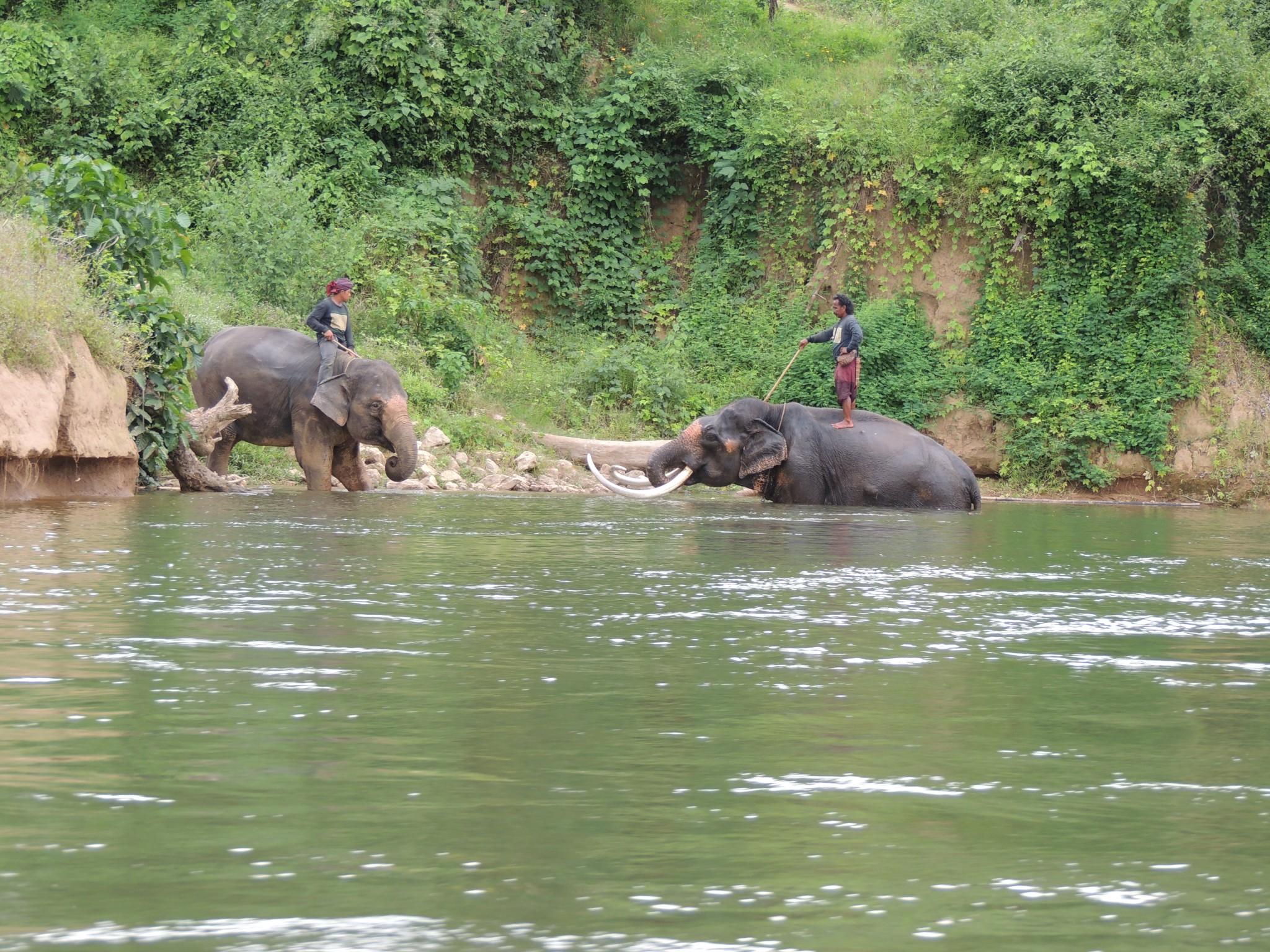 Thailand, zicht op de river Kwai