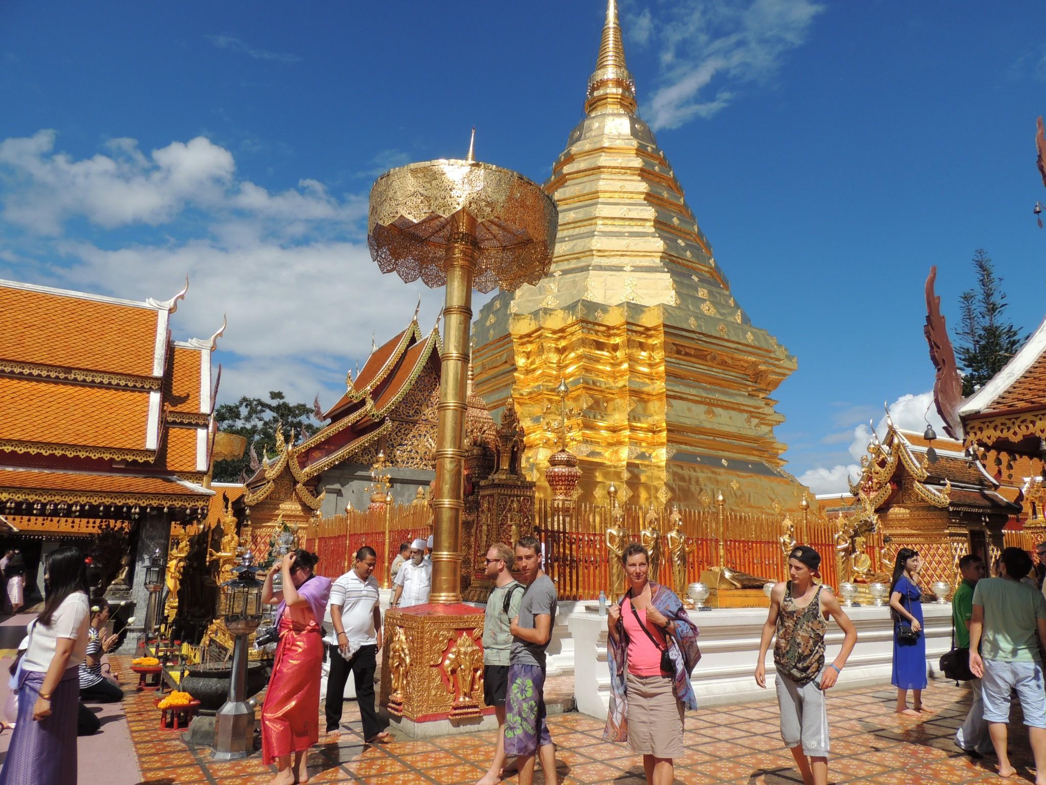 Thailand, Wat Phrathat Doi Suthep - Chaing Mai