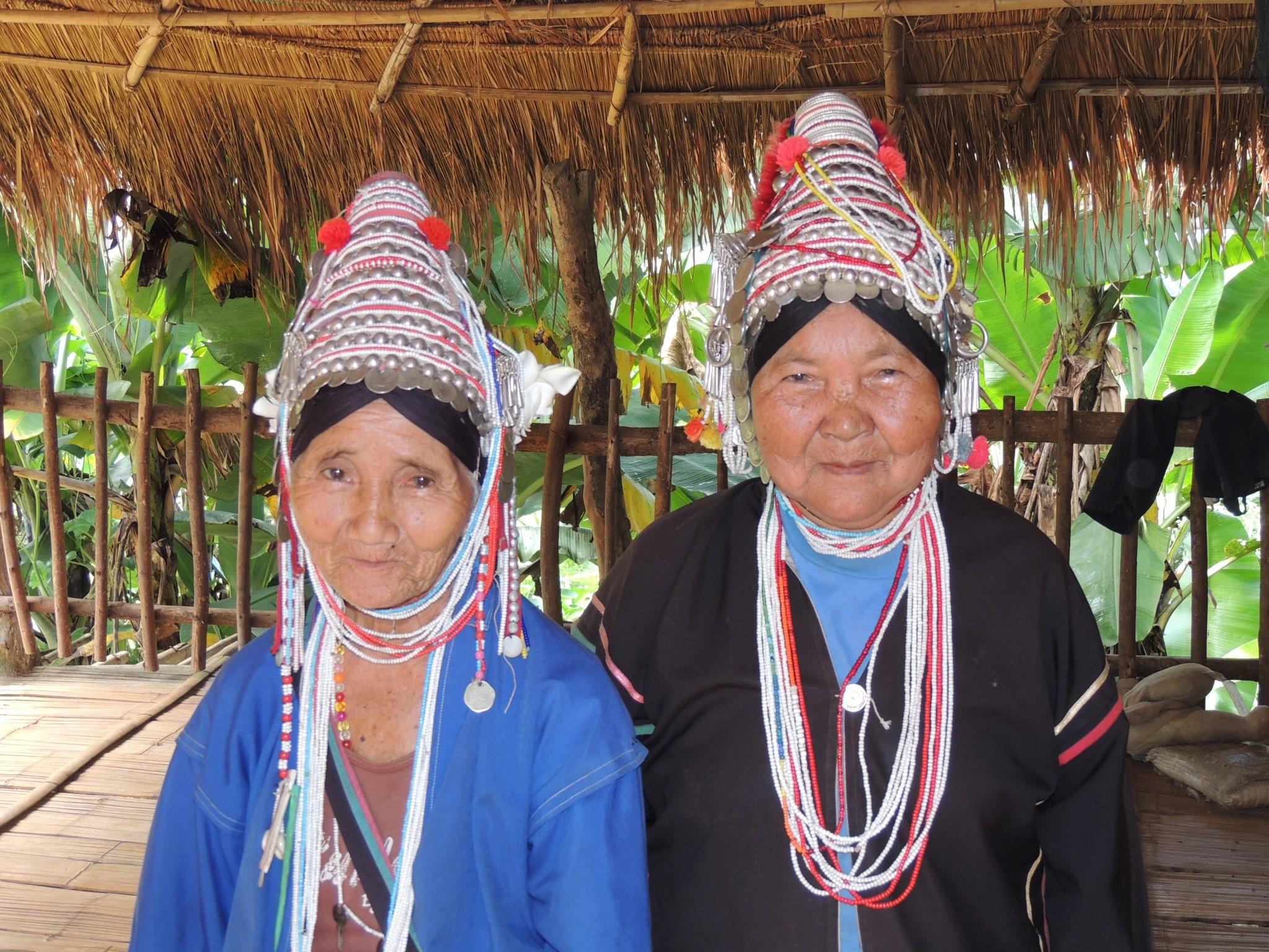 Thailand, bergstammen in het Noorden