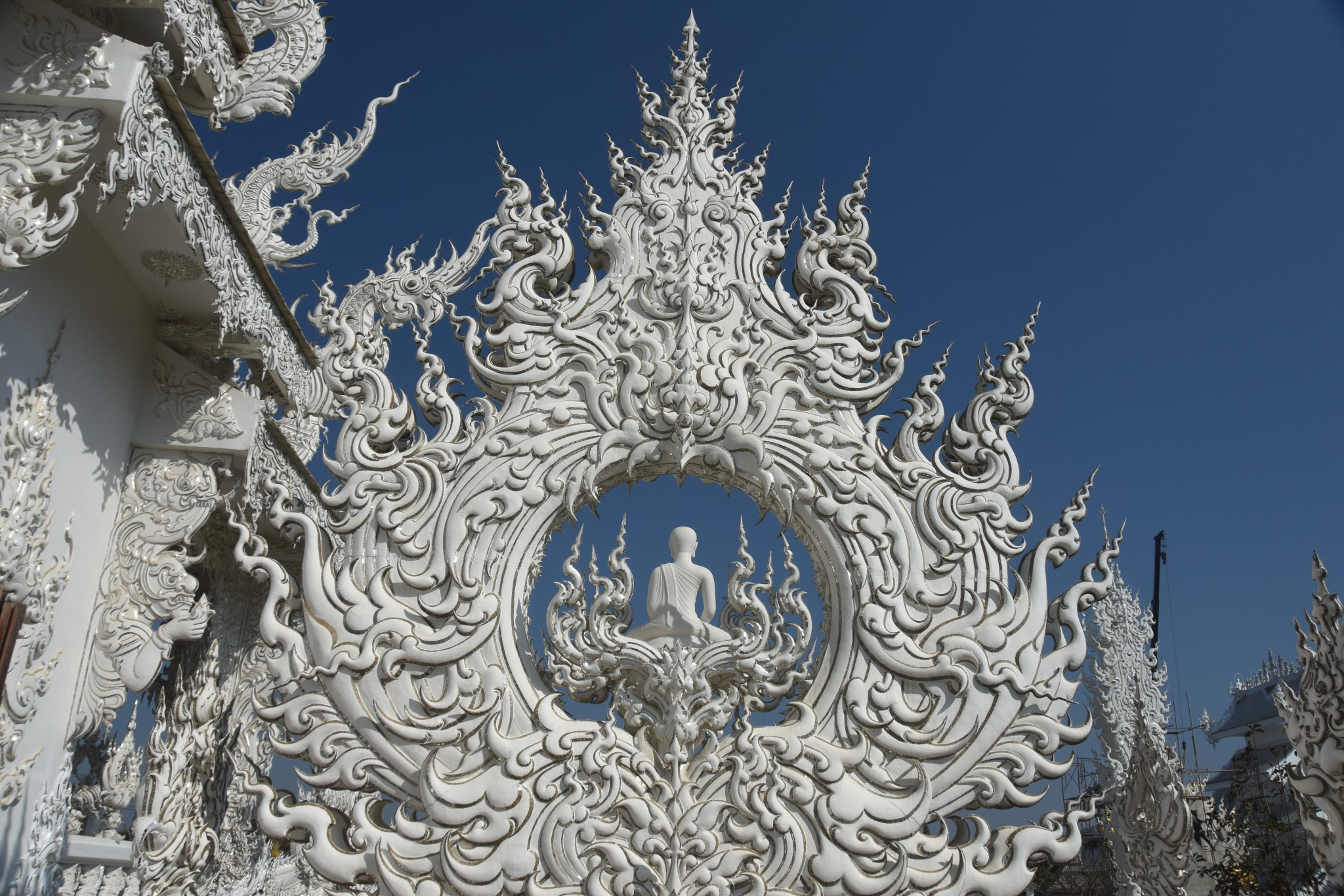 THailand , Witte Tempel in Chiang Rai