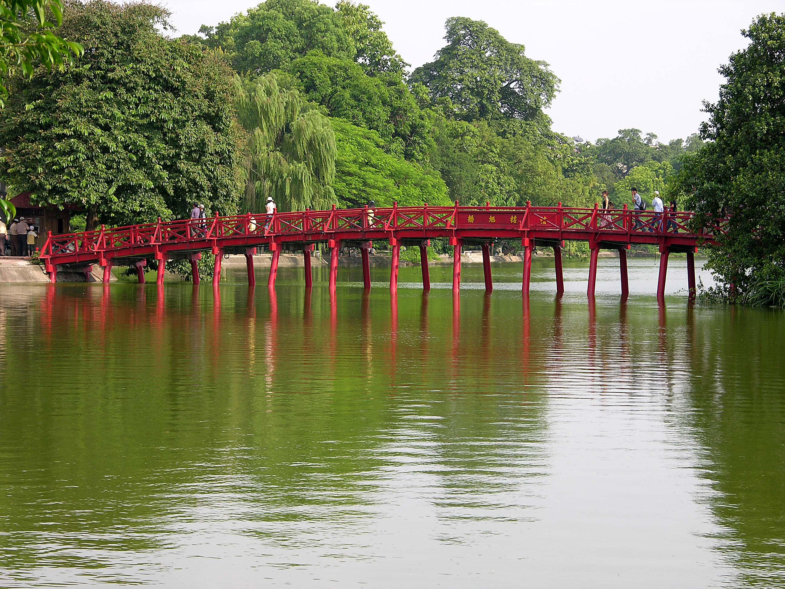Vietnam, Hoang Kiem meer in Hanoi