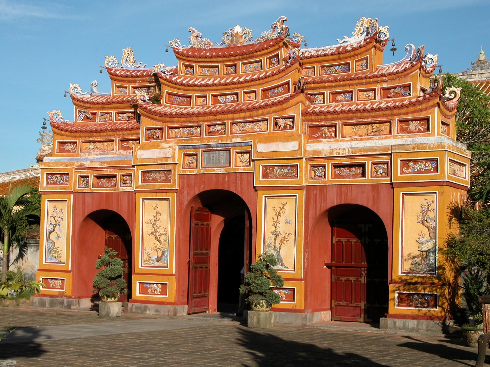 Vietnam, verboden stad in Hue