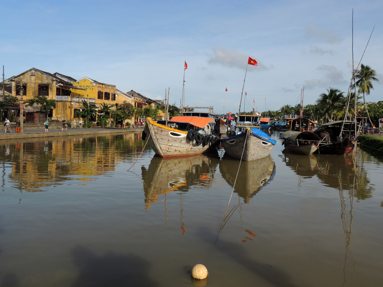 Vietnam, stadje Hoian