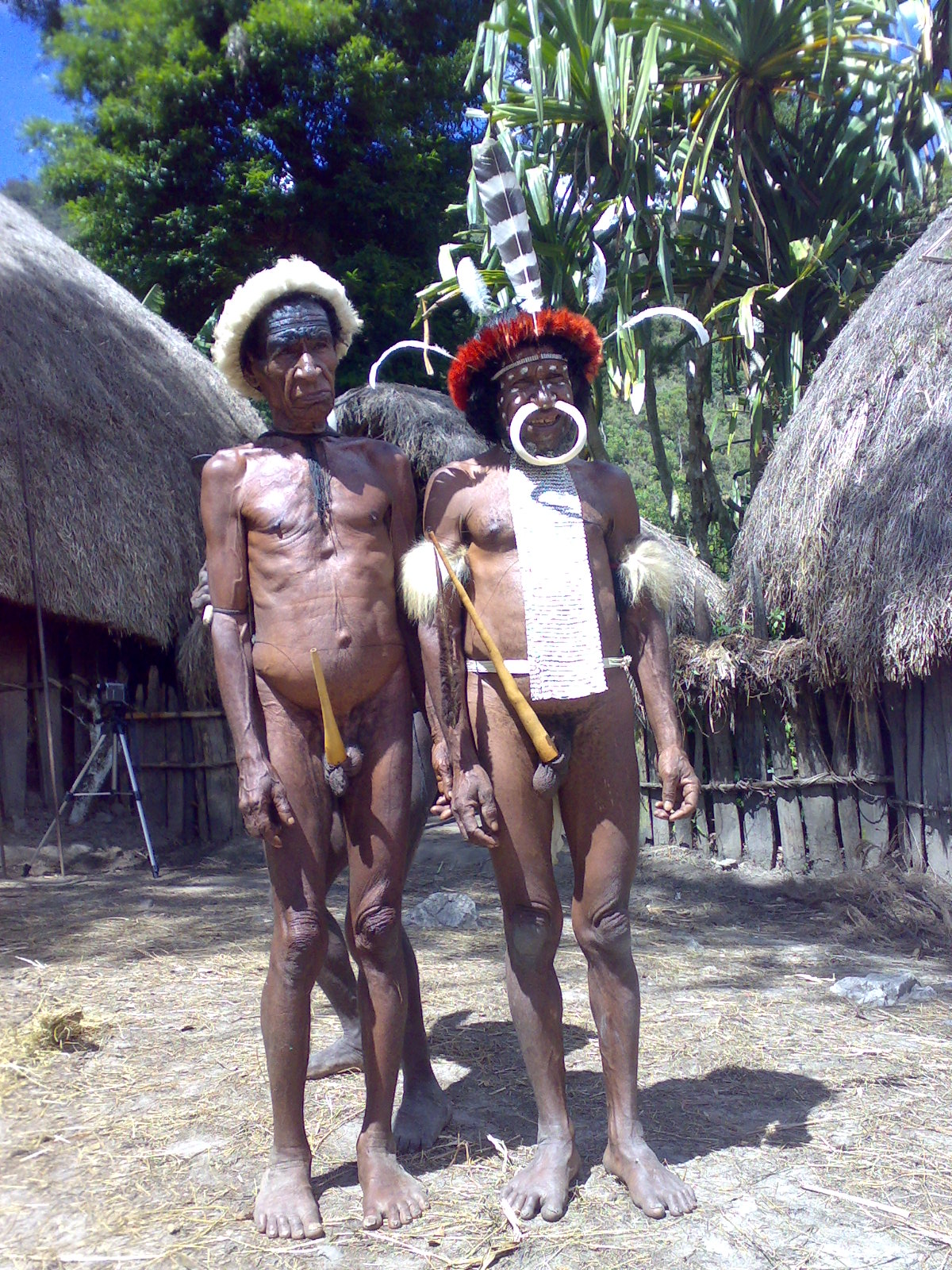 Papua reis – Asmat Fire3