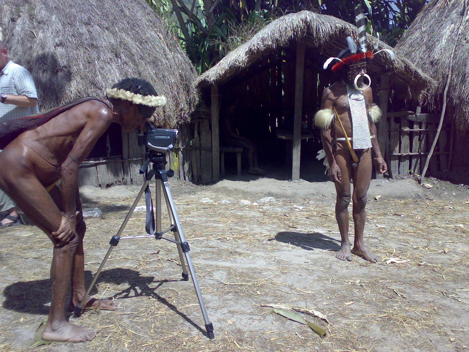 Papua reis – Asmat Fire4