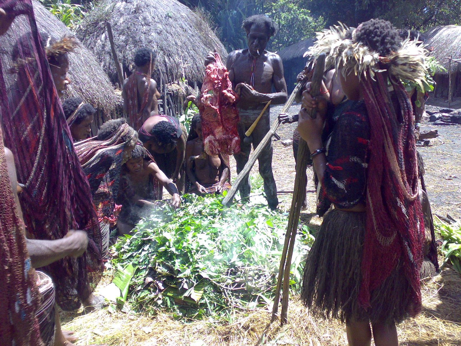 Papua reis – Asmat Fire5