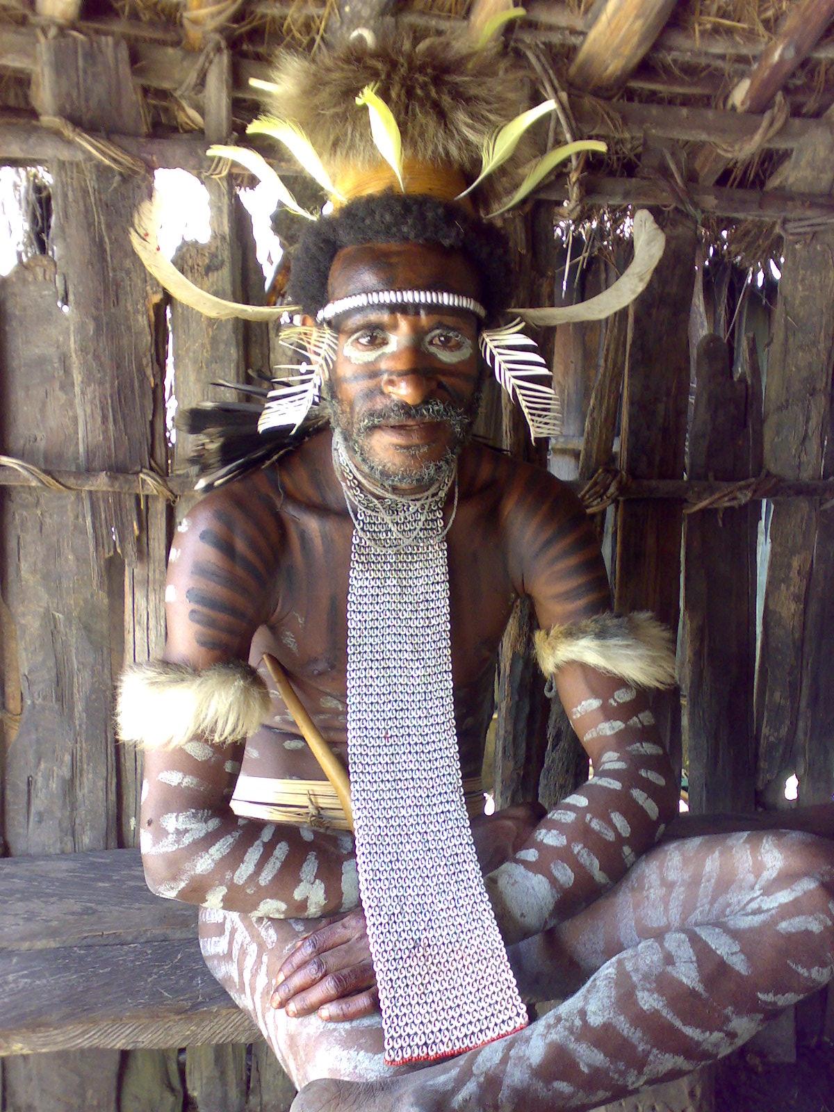 Papua reis – Asmat Fire7